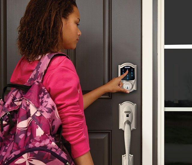 Residential keypad smart lock