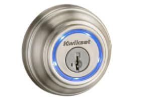 Kwikset deadbolts installed