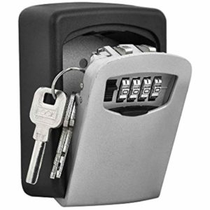 Push Button Combination Locks for storing extra keys