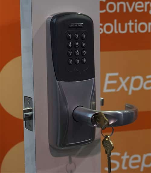 Commercial Keypad Locks can help secure your business.
