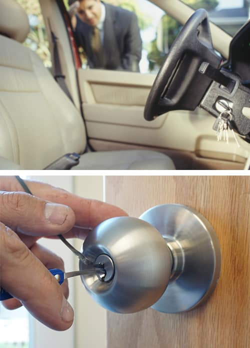 Automotive, residential, and commercial emergency locksmith services.